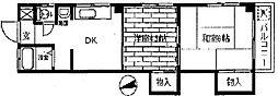 丹羽マンション[3階]の間取り