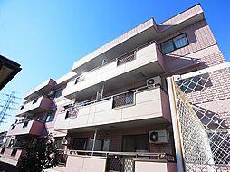 千葉県野田市山崎貝塚町の賃貸マンションの外観