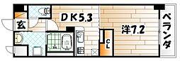 エス・テイト 守恒[4階]の間取り