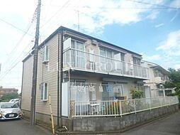 東京都武蔵村山市伊奈平6丁目の賃貸アパートの外観