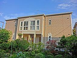 神奈川県平塚市花水台の賃貸マンションの外観
