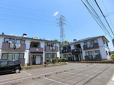 外観,2LDK,面積53.8m2,賃料5.3万円,つくばエクスプレス つくば駅 バス20分 稲荷前下車 徒歩7分,,茨城県つくば市稲荷前14-2