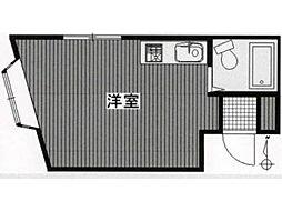 エクセルリヴィェール[3階]の間取り