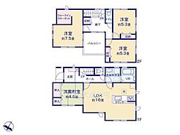 一戸建て(若葉駅から徒歩17分、98.54m²、3,080万円)