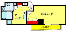 都営三田線 西巣鴨駅 徒歩11分の賃貸マンション 2階1Kの間取り