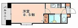 福岡県福岡市博多区博多駅前3丁目の賃貸マンションの間取り
