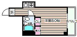 ユニオンハイツ[4階]の間取り