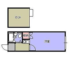 アクアミツナオ2[2階]の間取り