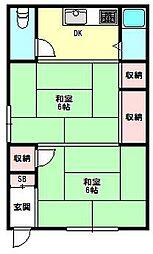 兵庫県神戸市長田区堀切町の賃貸アパートの間取り