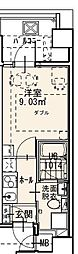 Randor Residence Fukuoka 7階1Kの間取り