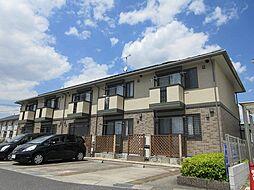 滋賀県甲賀市水口町的場の賃貸アパートの外観