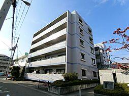 大阪府茨木市小柳町の賃貸マンションの外観