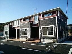 鹿児島県南九州市川辺町田部田の賃貸アパートの外観