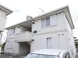 千葉県市原市出津の賃貸アパートの外観