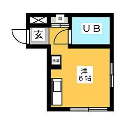 パークマンション神宮[2階]の間取り
