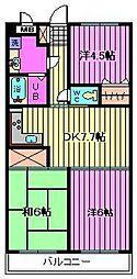 プレステージマンション191[202号室]の間取り