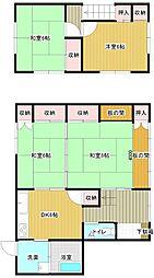 [一戸建] 宮崎県宮崎市大字恒久 の賃貸【/】の間取り