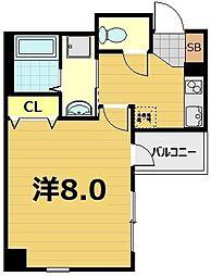 (仮称) 南区東九条西明田町マンション[5階]の間取り