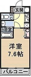 仮称)御陵別所学生マンション[103号室号室]の間取り