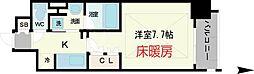大阪府大阪市中央区南船場3-の賃貸マンションの間取り