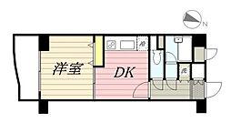神奈川県川崎市多摩区東三田2丁目の賃貸アパートの間取り