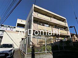 千葉県松戸市胡録台の賃貸マンションの外観