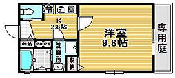Kiyo maison 綾園[105号室]の間取り