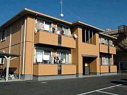 広島県福山市新市町大字新市の賃貸アパートの外観