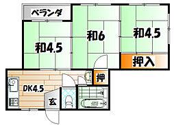 MDIマンション苅田駅前[6階]の間取り