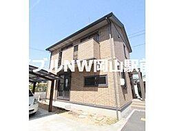 [テラスハウス] 岡山県岡山市北区今8丁目 の賃貸【/】の外観