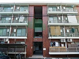 福岡県福岡市博多区東公園の賃貸マンションの外観