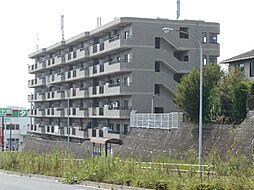 神奈川県横浜市都筑区見花山の賃貸マンションの外観