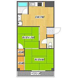 Famiry Mansion Ogura〜小倉ファミリーマン[2階]の間取り