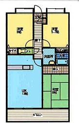 サテラ佐賀駅前マンション[602号室]の間取り