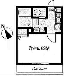 神奈川県横浜市中区石川町1丁目の賃貸マンションの間取り