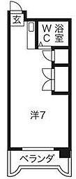 サンファミリー鈴木[5階]の間取り