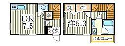 G−1大塚町[1階]の間取り