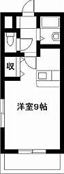 エレガンス11[305号室]の間取り