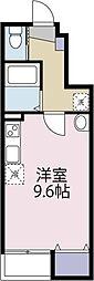 中村アパート(仮)[102 号室号室]の間取り