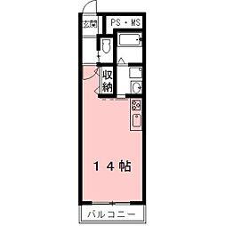 ラ・ミノールIII[303号室]の間取り