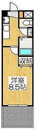 鹿苑(ろくおん)[102号室]の間取り