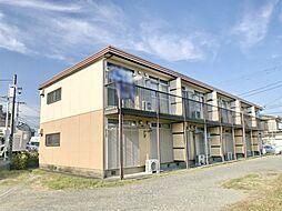 神奈川県厚木市元町の賃貸アパートの外観