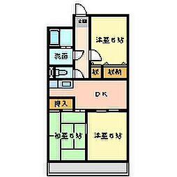 イマキタハイツ29[5階]の間取り