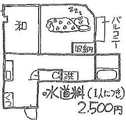 アベニューNAGAKI[302号室]の間取り