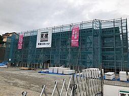 木更津市真舟5丁目新築アパート[107号室]の外観