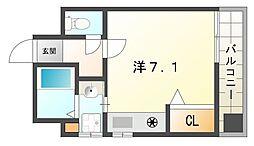 サンティール大和田[6階]の間取り