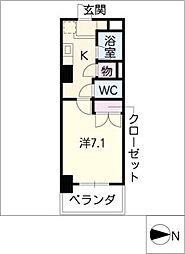 第2さくらマンション中央[2階]の間取り