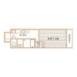 Full House YAGOTO[407号室]の間取り