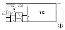 栃木県宇都宮市泉が丘4丁目の賃貸マンションの間取り