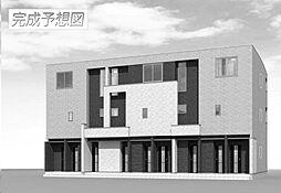 広島県福山市西新涯町2丁目の賃貸アパートの外観